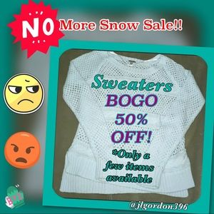 Sweaters - BOGO 50% Off on Sweaters